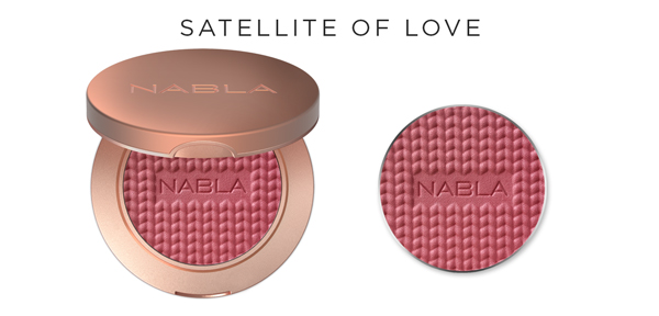Collezione Goldust - Nabla Cosmetics - Blush Satellite of Love