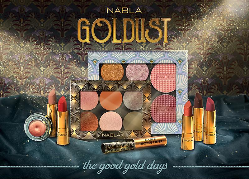 Collezione Goldust Nabla Cosmetics