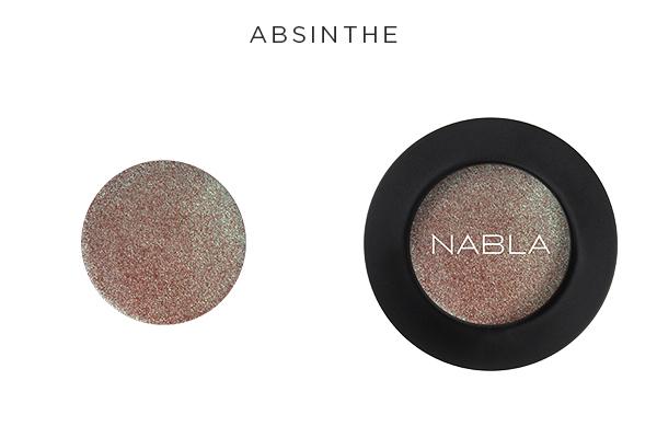 Collezione Goldust - Nabla Cosmetics - Ombretto Absinthe
