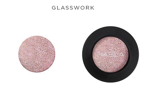 Collezione Goldust - Nabla Cosmetics - Ombretto Glasswork