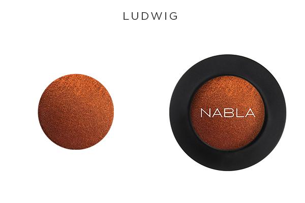 Collezione Goldust - Nabla Cosmetics - ombretto Ludwig