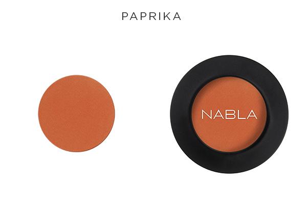 Collezione Goldust - Nabla Cosmetics - Ombretto Paprika