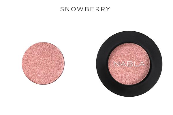 Collezione Goldust - Nabla Cosmetics - ombretto Snowberry