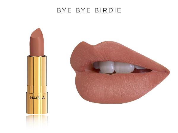 Collezione Goldust - Nabla Cosmetics - Rossetto Bye Bye Birdie