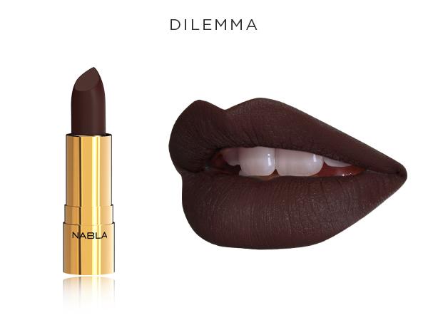 Collezione Goldust - Nabla Cosmetics - Rossetto Dilemma
