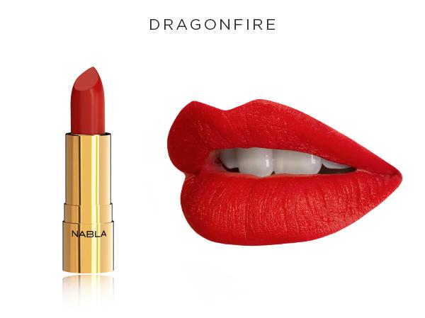 Collezione Goldust - Nabla Cosmetics - Rossetto Dragonfire