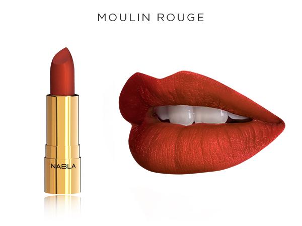 Collezione Goldust - Nabla Cosmetics - rossetto Moulin Rouge