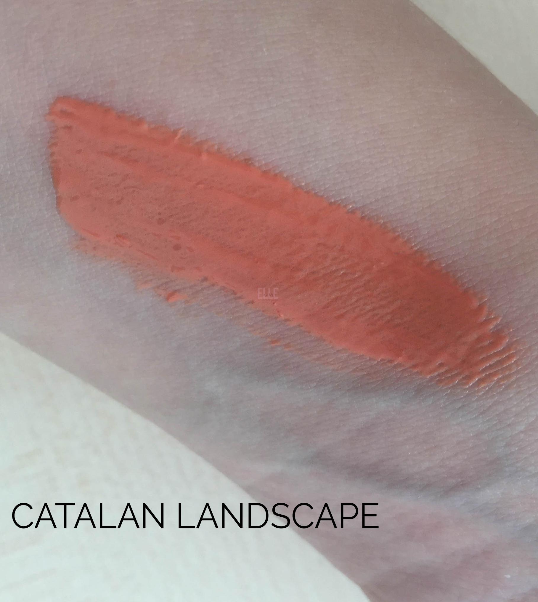 Swatch Catalan Landscape Neve Cosmetics Vernissage