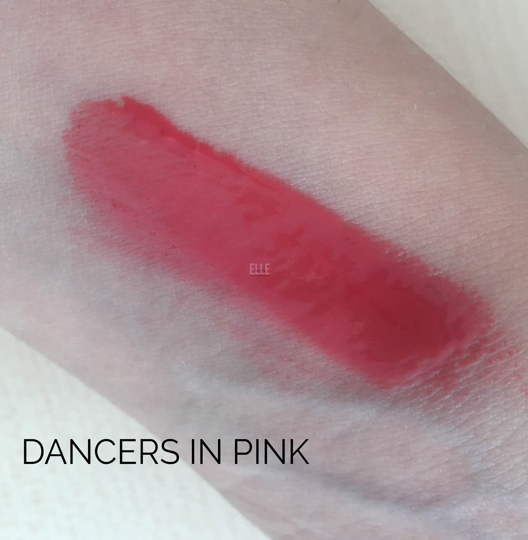 Swatch Dancers in Pink - Vernissage - Neve Cosmetics