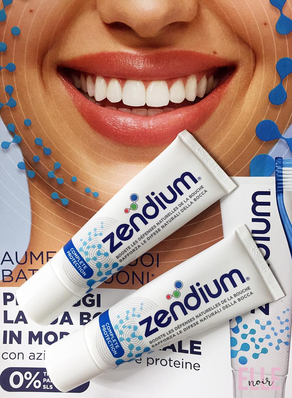 Dentifricio Zendium : due travel size.