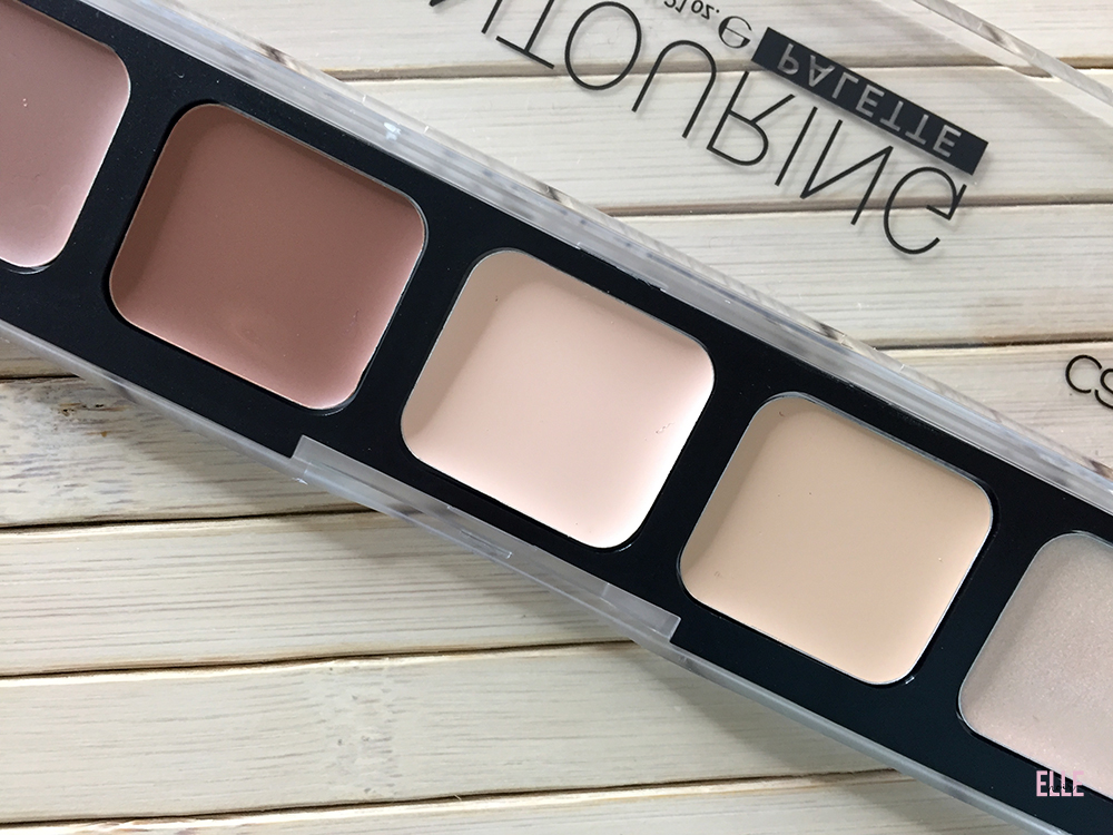Close Up della palette Allround Contouring di Catrice.