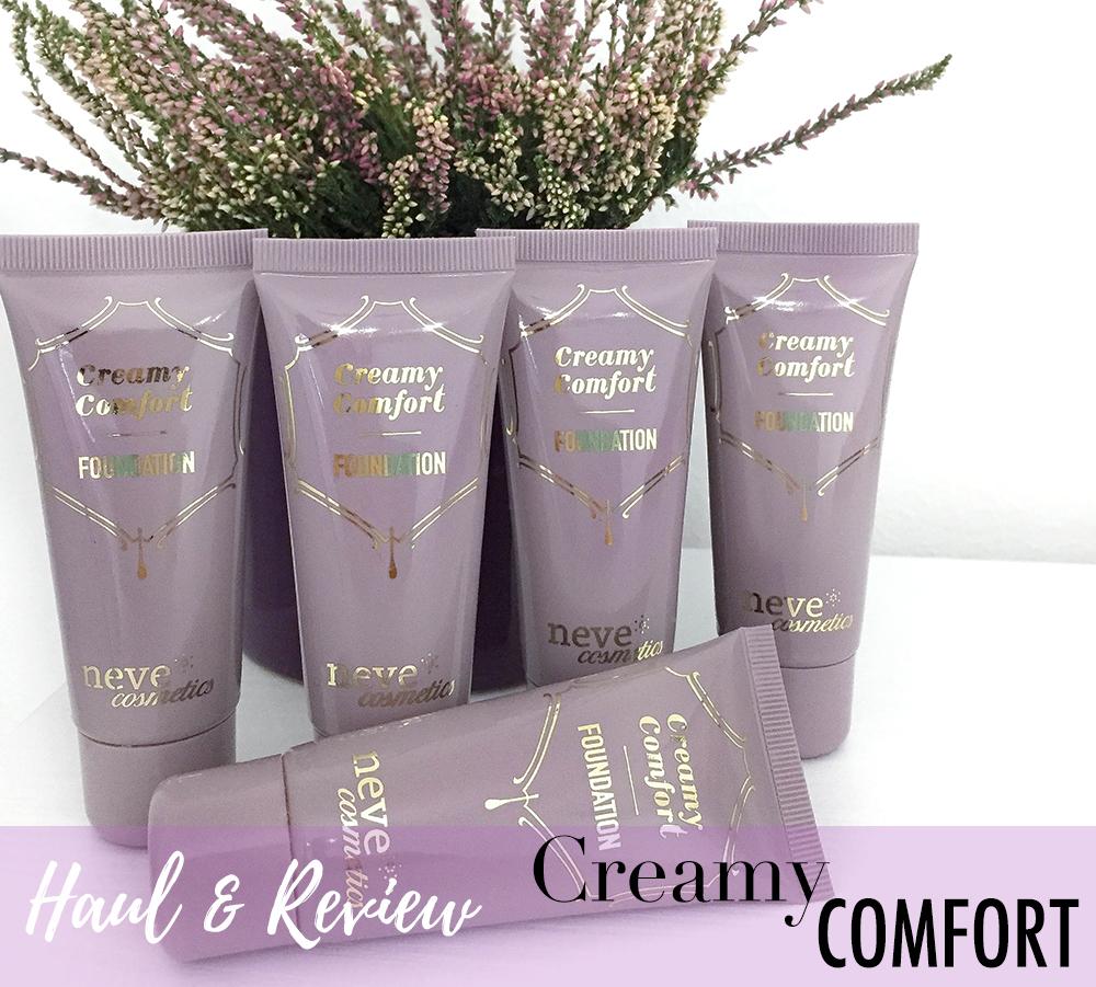 E' arrivato il tanto atteso fondotinta liquido di Neve Cosmetics : Neve Cosmetics Creamy Comfort Foundation