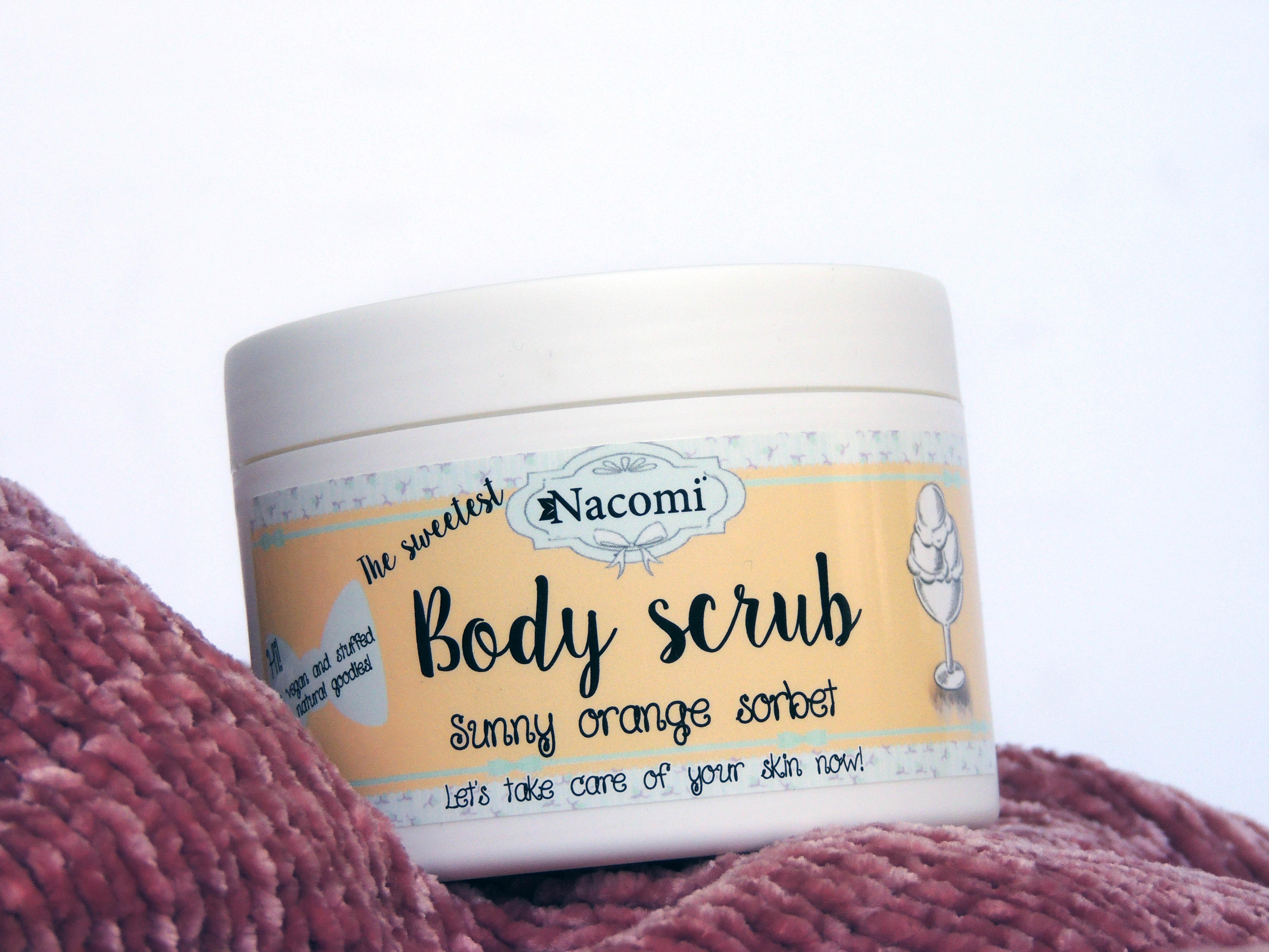 Review Scrub Corpo Nacomi - Sunny Orange Sorbet